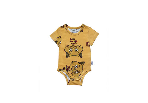 One Day Parade One Day Parade Romper Yellow Cat