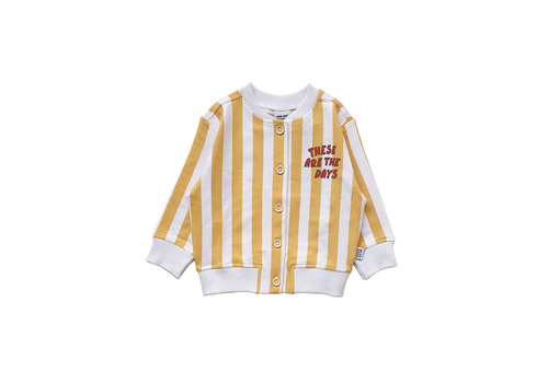 One Day Parade One Day Parade Cardigan Yellow Stripe
