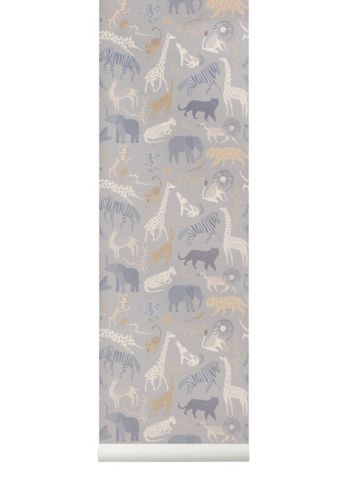 Ferm Living Ferm Living Safari Wallpaper