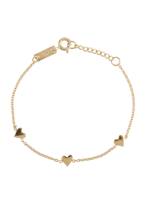 Lennebelle Lennebelle You are Loved Armband Verguld - dochter