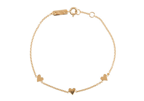 Lennebelle Lennebelle You are Loved Armband Verguld - moeder