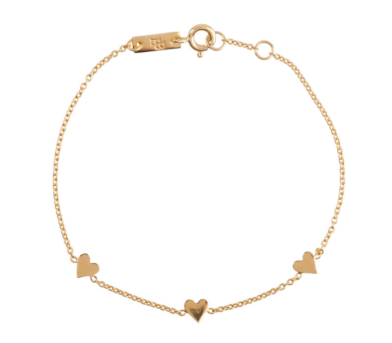 Lennebelle You are Loved Armband Verguld - moeder