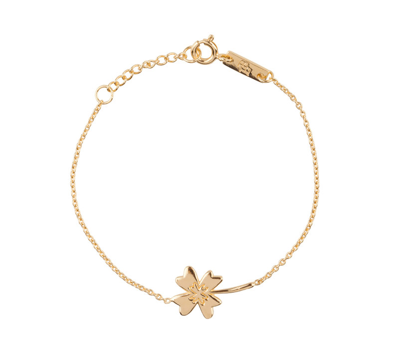Lennebelle Wishing You All The Luck In The World Armband Verguld - dochter