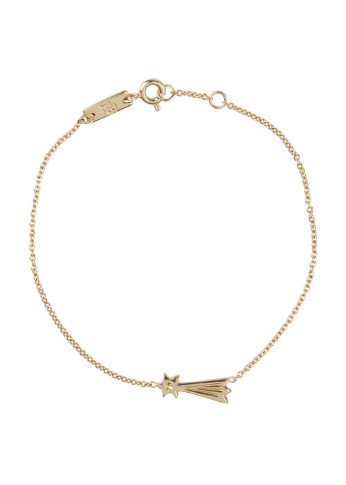 Lennebelle Lennebelle You Make My Wishes Come True Armband Verguld - moeder