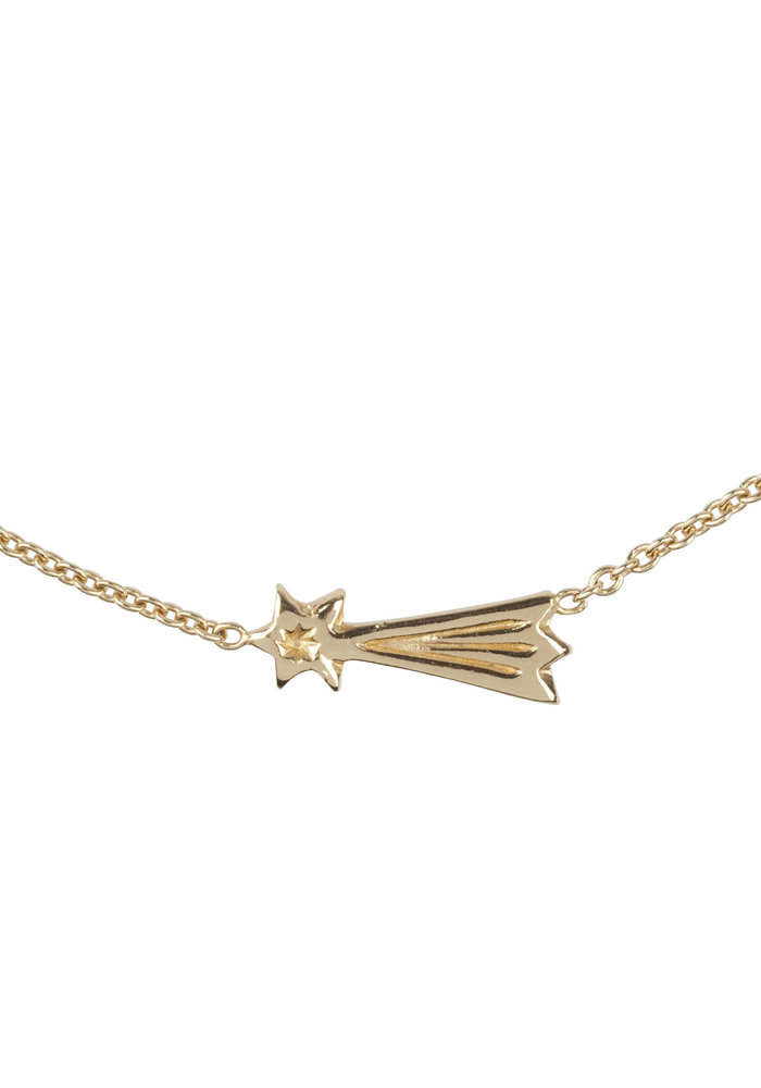 Lennebelle You Make My Wishes Come True Ketting  Verguld