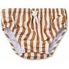 Liewood Liewood Frej Baby Boy Swim Pants Stripe Mustard Creme de la Creme