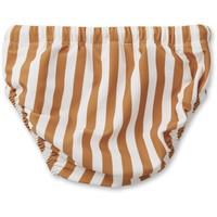 Liewood Frej Baby Boy Swim Pants Stripe Mustard Creme de la Creme