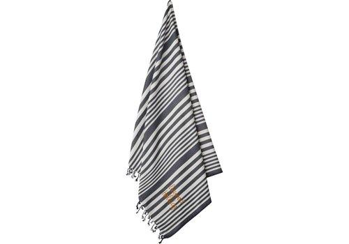 Liewood Liewood Monroe Beach Towel Stipe Navy/Creme de la Creme