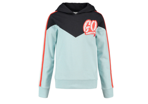 CKS CKS Barendon Hooded Sweater - antra aqua