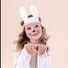 Mimi&Lula Mimi & Lula Bunny Ears Bando White