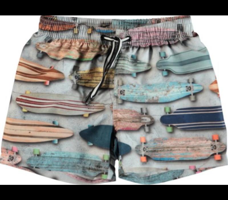 Molo Niko UV Zwemshort Boys Board Stripe