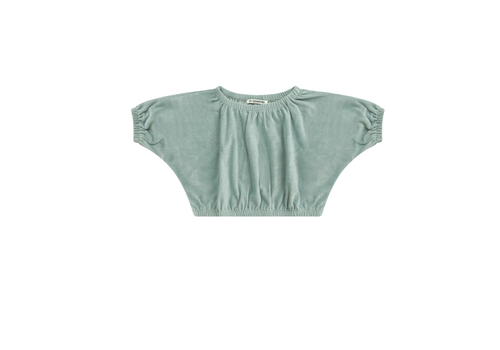 Mingo Mingo Cropped Top Terry Mint