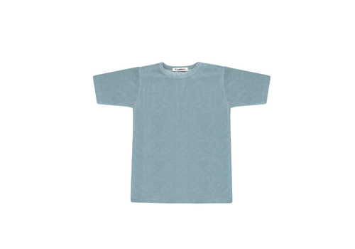 Mingo Mingo T-shirt Terry Smoke Blue