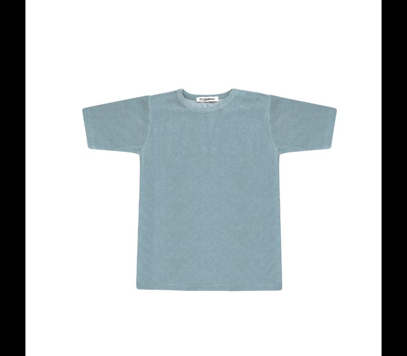 Mingo T-shirt Terry Smoke Blue