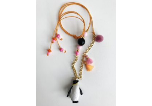ByMelo ByMelo Dierenketting Pim Pinguin