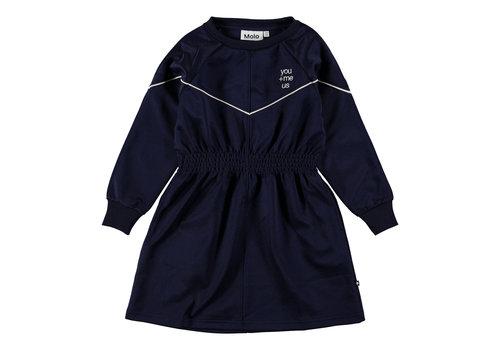 Molo Molo Colleta Dress Classic Navy