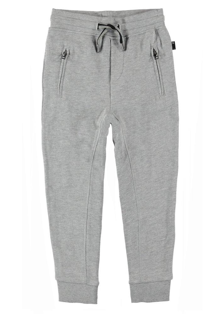 Molo Ash Soft Pants Grey Melange