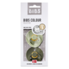 BIBS Bibs Pacifier Newborn - sage/hunter green