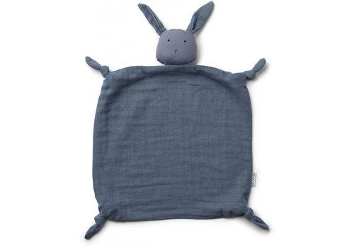 Liewood Liewood Agnete Cuddle Cloth Rabbit Blue Wave