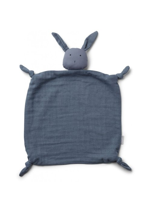 Liewood Liewood Agnete Cuddle Cloth Rabbit Blue Wave