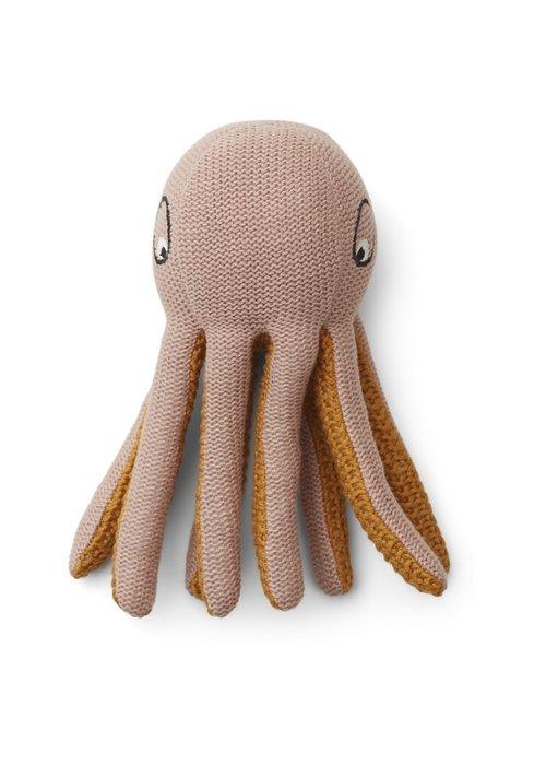 Liewood Liewood Ole Knit Mini Teddy Octopus Rose
