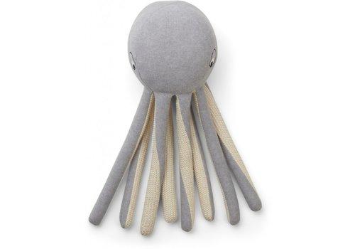 Liewood Liewood Helmer Knit Teddy Octopus Grey Melange