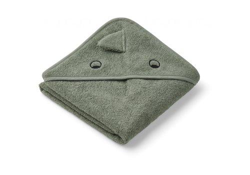 Liewood Liewood Albert Hooded Towel  Dino Faune Green