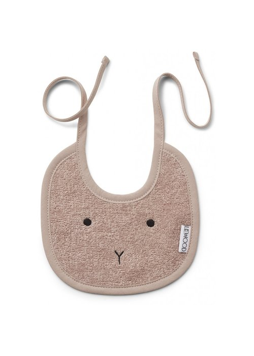 Liewood Liewood Lilja Bib 2 pack Rabbit Rose