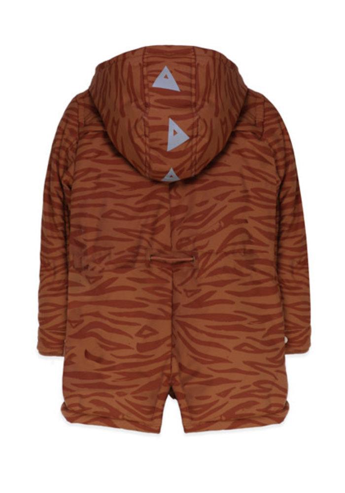 Ammehoela Storm Parka Brown Tiger