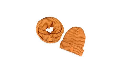 Ammehoela Ammehoela Bobbie Scarf and Hat Yellow