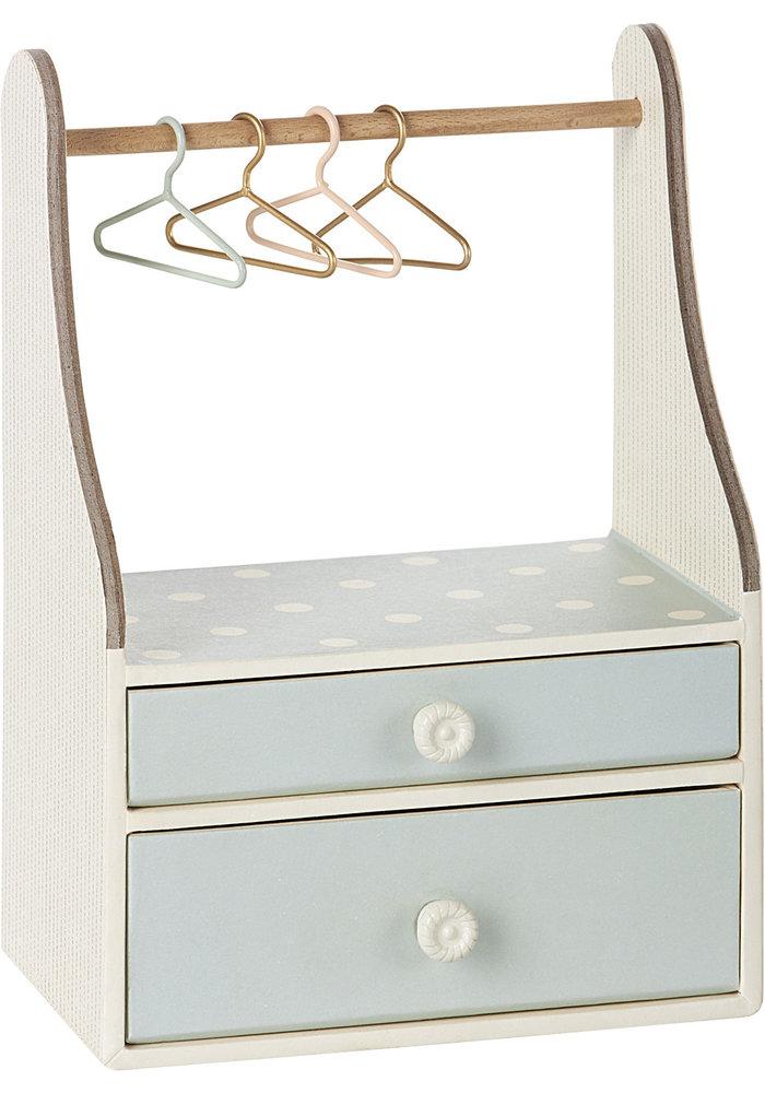Maileg Wardrobe Dresser Mint