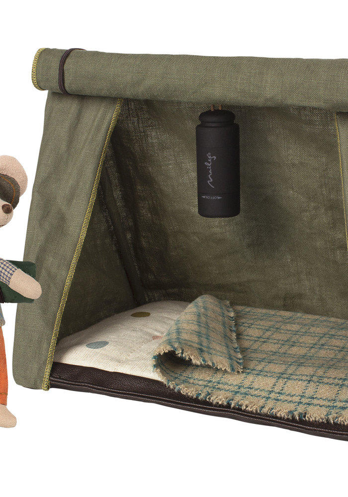 Maileg Happy Camper Tent Mouse