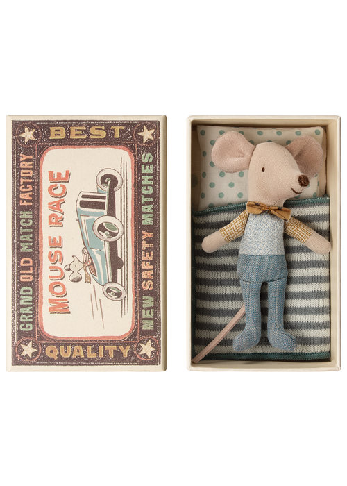 Maileg Maileg Little Brother Mouse in Box