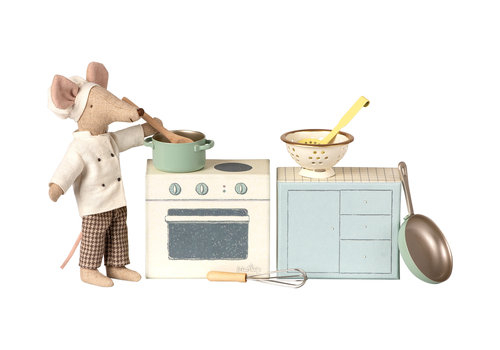 Maileg Maileg Mouse Cooking Set
