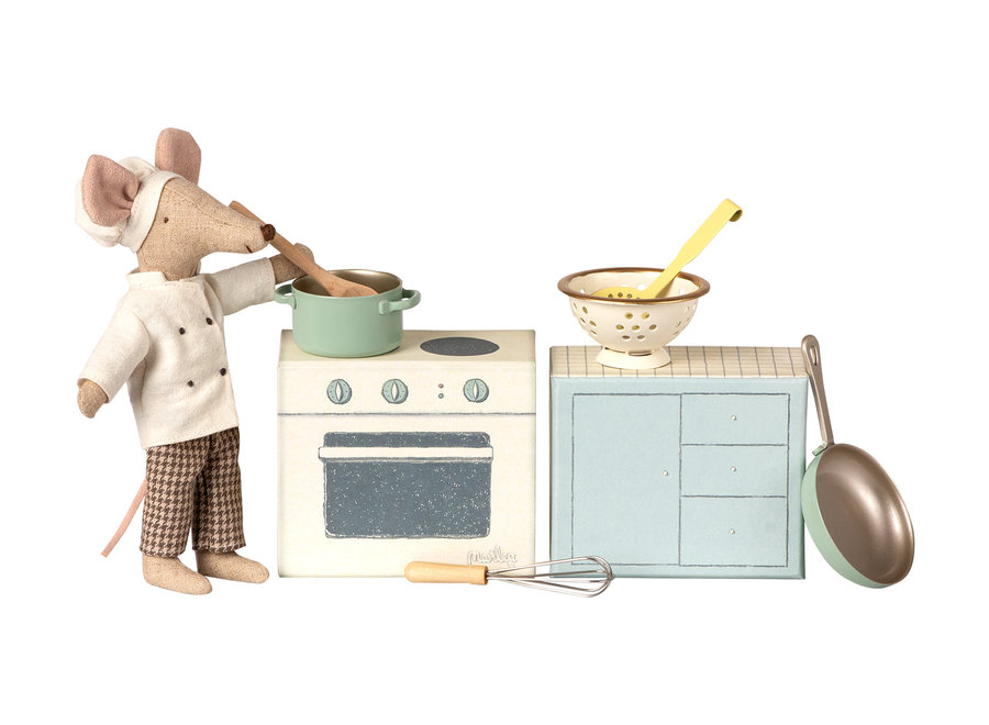 Maileg Mouse Cooking Set