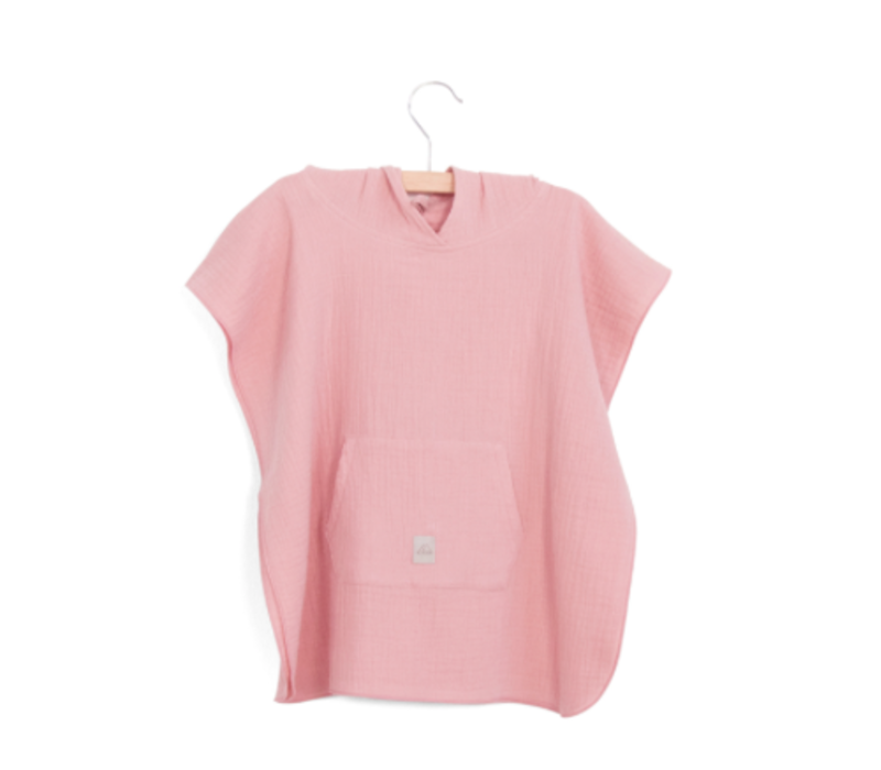Nanami Mousseline Poncho 3-4 jaar Pink