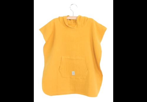 Nanami Nanami Mousseline Poncho 3-4 jaar Yellow