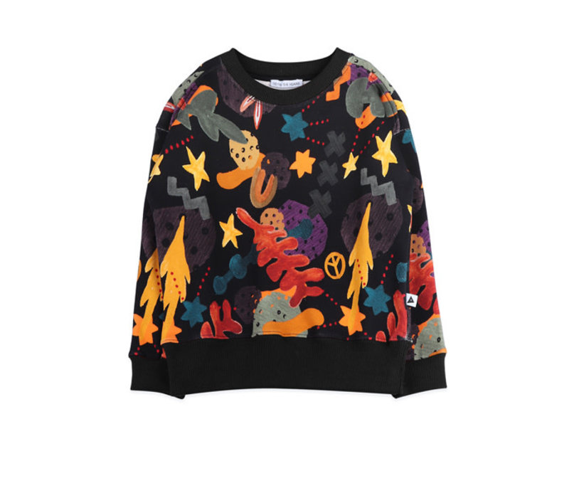 Ammehoela Rocky Sweater Forrest AOP