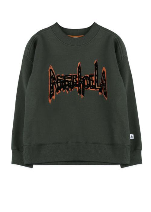 Ammehoela Ammehoela Rocky Sweater Dark Green