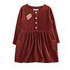 Ammehoela Ammehoela Liesje Dress Bordeaux