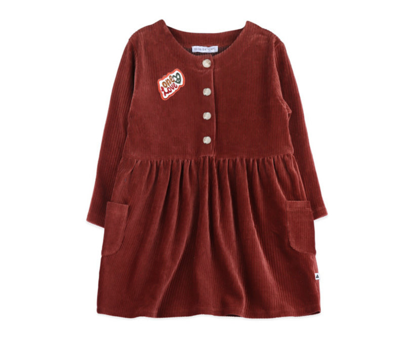Ammehoela Liesje Dress Bordeaux