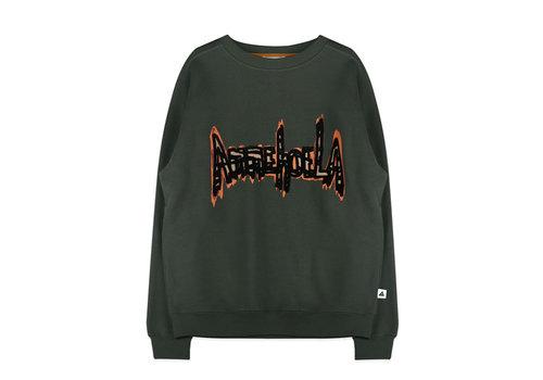 Ammehoela Ammehoela Rocky Dad Sweater Dark Green