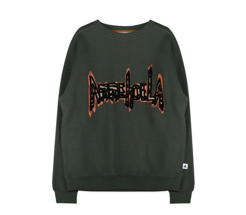 Ammehoela Rocky Dad Sweater Dark Green