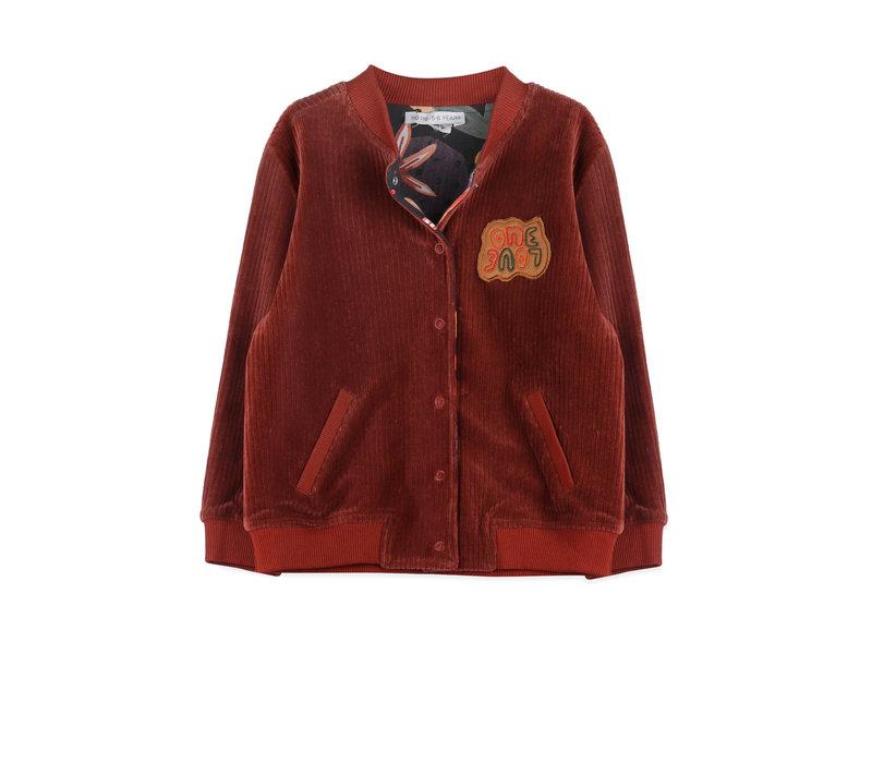 Ammehoela Ollie Reversible Jacket Forrest Bordeaux Baby