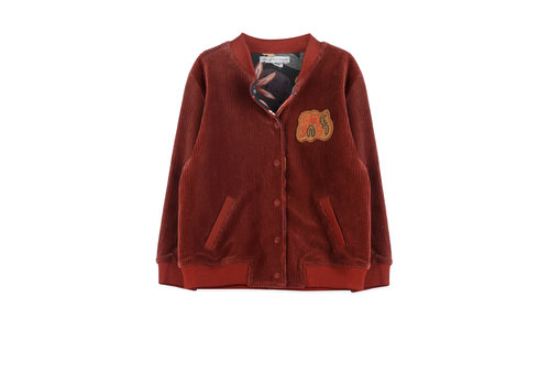 Ammehoela Ammehoela Reversible Ollie Jacket Forrest Bordeaux Kids