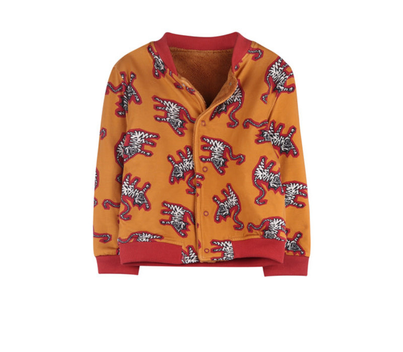 Ammehoela Ollie Jacket Tiger Yellow/Light Caramel Baby