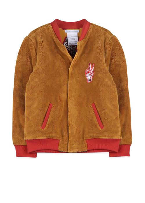 Ammehoela Ammehoela Ollie Jacket Tiger Yellow/Light Caramel Baby
