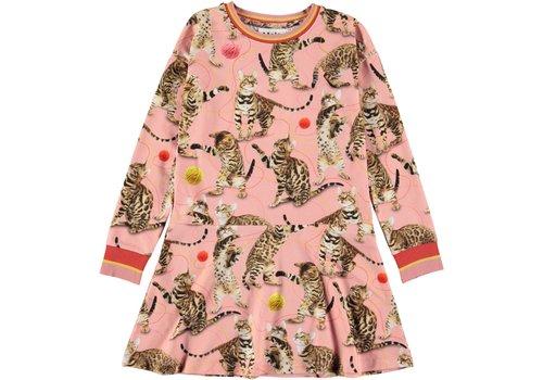 Molo Molo Conny Dress Wannabee Leopard