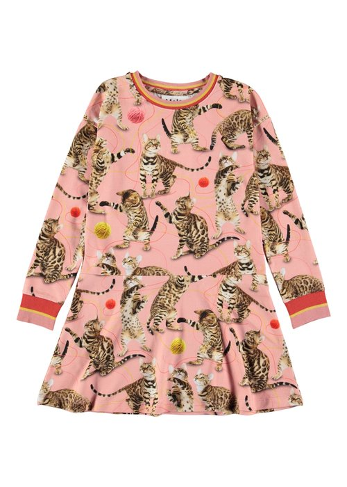 Molo Molo Conny Dress Wannabee Leopard
