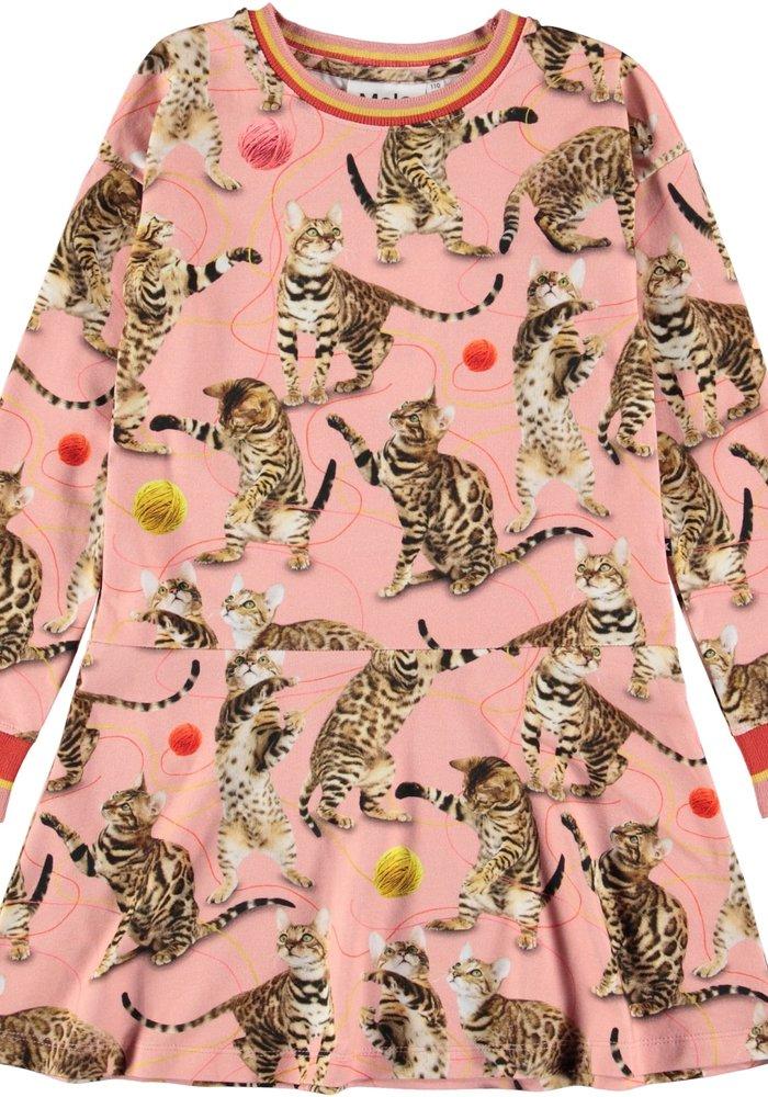 Molo Conny Dress Wannabee Leopard